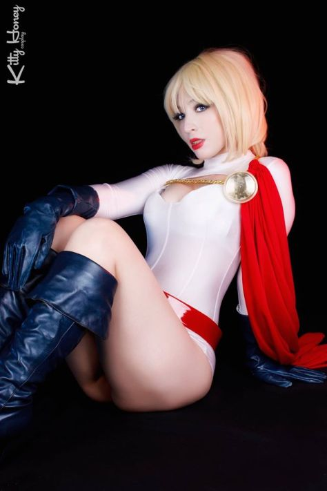 Power Girl Cosplay Kitty Honey