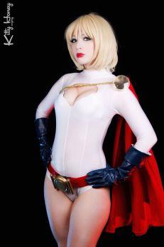 Power Girl Cosplay Kitty Honey