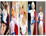 power girl cosplay wallpaper