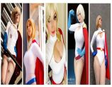 power girl cosplay wallpaper