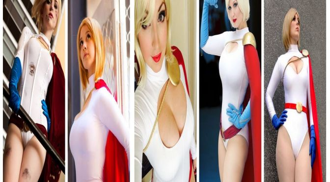 Power Girl – Cosplay Gata da Semana