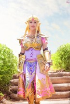 Queen Zelda from Hyrule Warriors Layze Michelle cosplay (1)