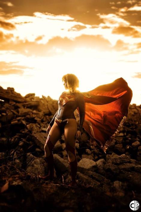 Supergirl cosplay news52 Artful Anarchy (USA)