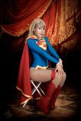Supergirl cosplay sexy gata Clef's Atelier, La Petite Feuille (11)
