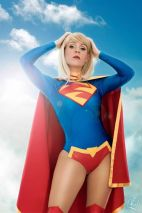 Supergirl cosplay sexy gata Clef's Atelier, La Petite Feuille (12)