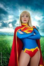 Supergirl cosplay sexy gata Clef's Atelier, La Petite Feuille (4)