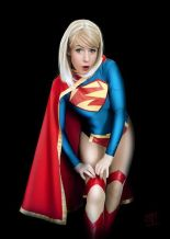Supergirl cosplay sexy gata Clef's Atelier, La Petite Feuille (6)