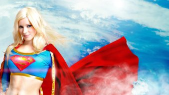 supergirl cosplay sexy gata enji night (2)