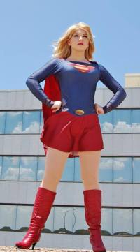 Supergirl Cosplay sexy Kay Jay (1)