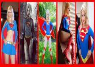 supergirl cosplay wallpaper