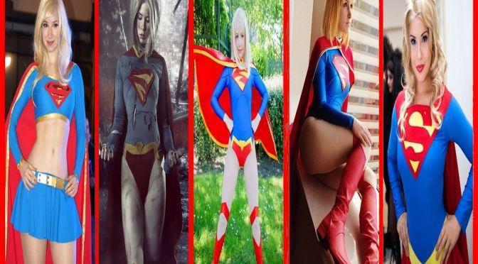 Supergirl – Cosplay Gata da Semana