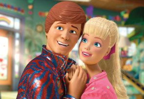 toy story 3 4 barbie e ken