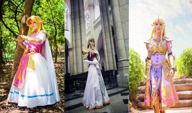 Zelda Cosplay (Layze Michelle) – Gata da Semana!