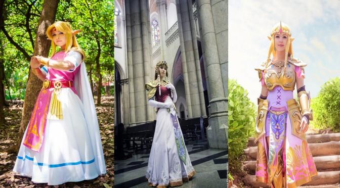 Zelda Cosplay (Layze Michelle) – Gata da Semana Especial!