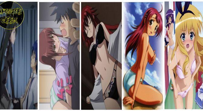 Top 15 Animes Ecchi que te deixam Querendo ver! (Parte 2)