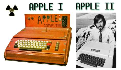 Apple I e Apple II com Steve Jobs