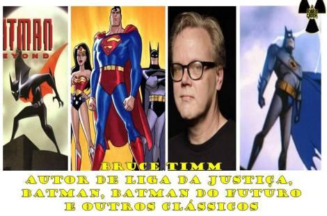 Bruce-Timm liga da justiça batman batman do futuro