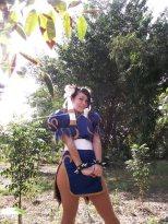 Carolina Angulo Cosplay Chun Li gata