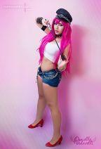 Danielle Vedovelli cosplay poison ecchi gata 5