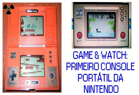 game watch primeiro portátil da nintendo