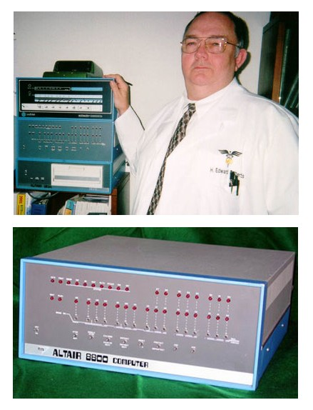 Henry Edward Roberts inventor do PC (IBM Altair 8800)