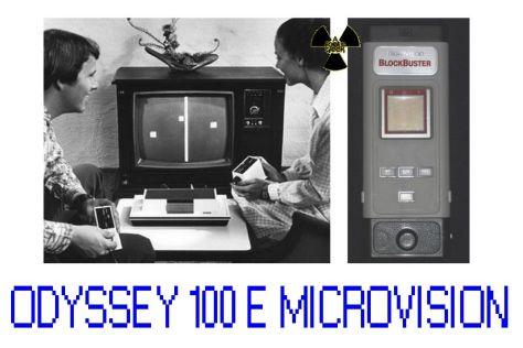 primeiro video game magnavox e microvision primeiro portátil