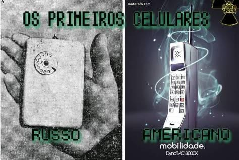 primeiros celulares feitos no mundo