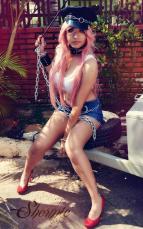 Shermie Cosplay da Poison (Brasil)