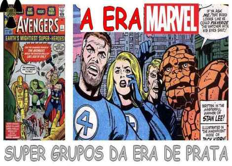 super grupos da era marvel