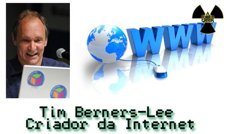Tim Berners-Lee criador da internet wall