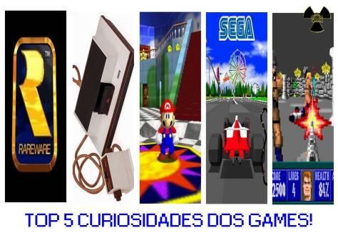 top 5 curiosidades dos games wall