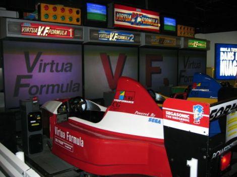 O Arcade de Virtua Racing (Devia ser o máximo!)