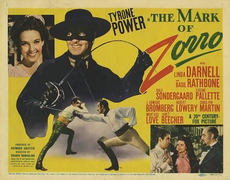 A Marca do Zorro 1940