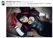 Bayonetta Cosplay Danielle Vedovelli posted Hideki Kamiya