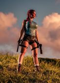 bianca beauchamp cosplay lara croft