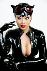 catwoman cosplay mulher gato cosplay yaya han
