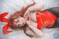 Cosplay Asahina Haruhi Suzumiya Feldon sexy