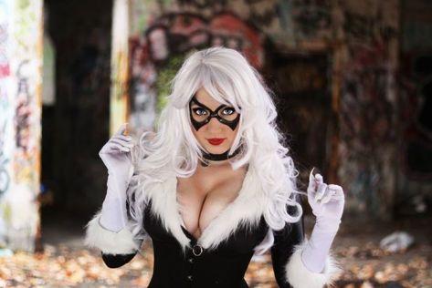 Cosplay black cat Jaycee cosplay gata negra