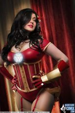 Cosplay Jaycee iron man pin up sexy gostosa (2)