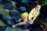 Cosplay Jaycee Jolteon pokemon pin up sexy pokemon gostosa (3)