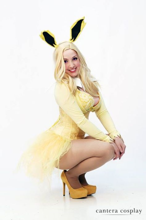 Cosplay Jaycee Jolteon pokemon pin up