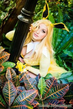 Cosplay Jaycee Jolteon pokemon pin up sexy pokemon gostosa (9)