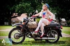 Cosplay Jaycee pin up captain america gata sexy capitão america (10)