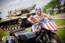 Cosplay Jaycee pin up captain america gata sexy capitão america (9)