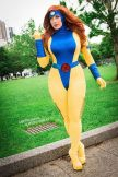 Cosplay Jean Grey Jaycee X-men gata sexy (5)