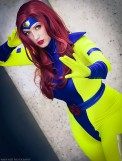 Cosplay Jean Grey Jaycee X-men gata sexy (6)