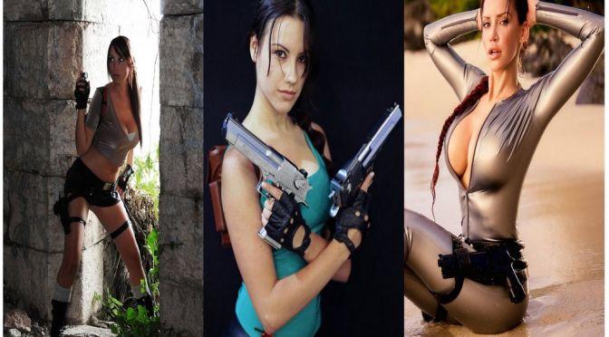 Lara Croft Cosplay – Gata da Semana
