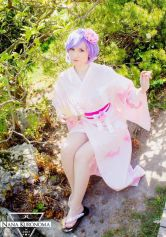 cosplay Lilith sexy Nana Kuronoma gata