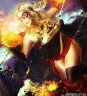 Cosplay miss marvel Jaycee cosplay