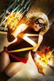 Cosplay miss marvel Jaycee cosplay